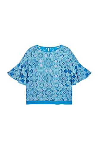 next Mujer Blusa Manga Acampanada Corte Regular Camisa Ropa