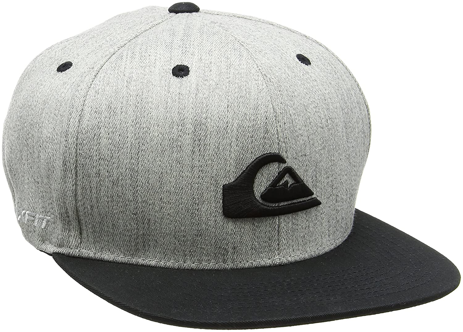 Quiksilver Stuckles M Hats Smc0 Gorra, Grey (Steeple Gray), Medium ...