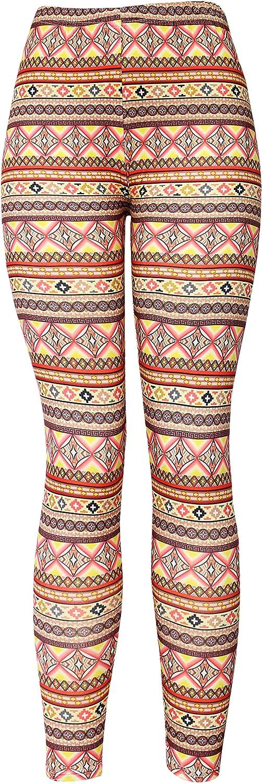 Boutique4Divas KMystic Women's Cotton Blend Basic Workout Fun Printed Leggings