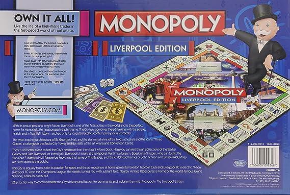 Liverpool Monopoly Board Game (versión en inglés): Winning Moves: Amazon.es: Juguetes y juegos