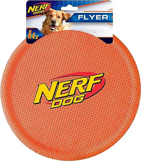 Medium//Large Assorted Colors Plush Frisbee Flyer Dog Toy