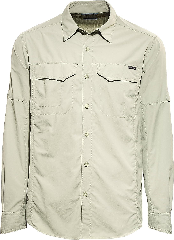 Columbia Hemd Silver Ridge Long Sleeve Shirt Camisa, Hombre ...