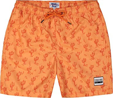 Dragon/'s Nest Men/'s Quick Dry Swim Trunks Beach Shorts Casual Drawstring Summer Shorts with Elastic Waist and Mesh Lining