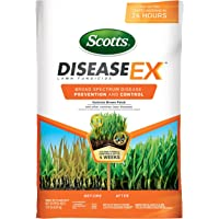 Scotts DiseaseEx Lawn Fungicide - Lawn Fungus Control & Treatment, Lawn Disease Control for Brown Patch, Powdery Mildew & More, Controls up to 4 Weeks, Fast Acting, Treats up to 5,000 sq. ft, 10 lb.