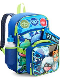 PJ Masks Ready For Action 5 Piece Backpack Set