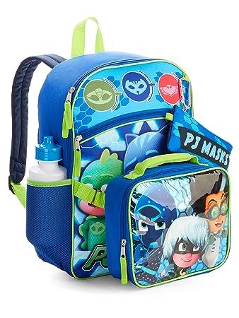 PJ Masks Ready For Action 5 Piece Backpack Set
