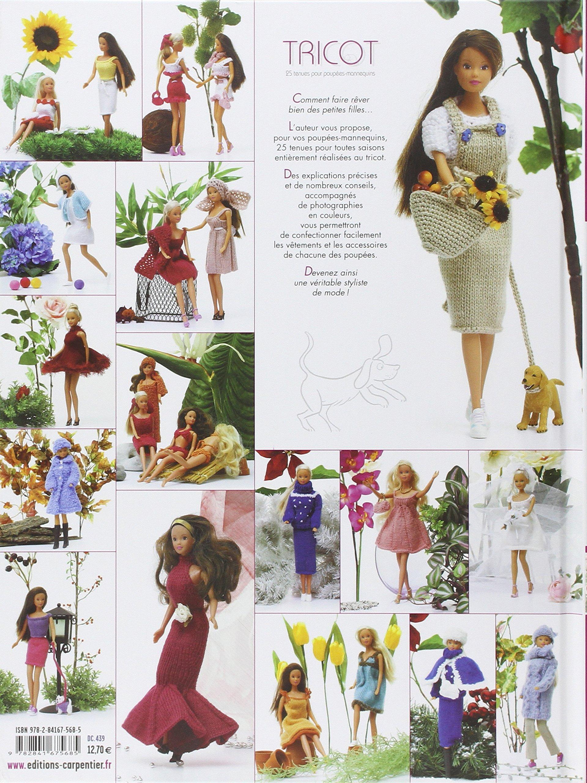 Tricot 25 Tenues Pour Poupées Mannequins Faites Vous Même