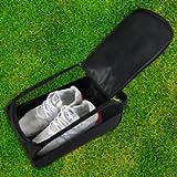 Getfitsoo Golf Shoe Bag, Golf Shoes Bags Men/Women Outdoor Zippered Carrier Bags with Ventilation Sport Shoes Bag Travel…