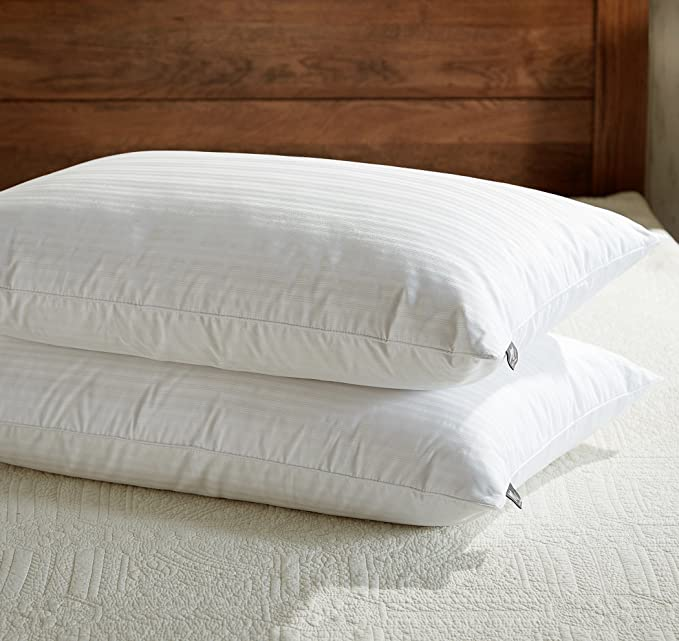 downluxe Goose Feather Down Pillow - The Comfortable and Lovely Feel