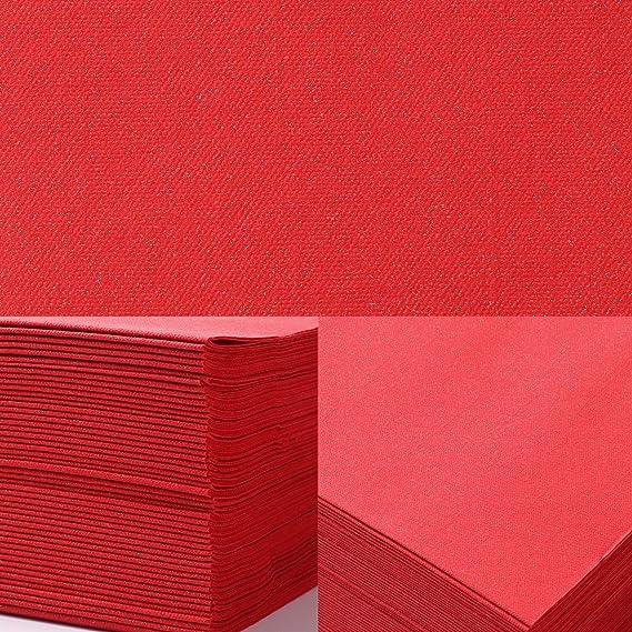 Thali Outlet/ /125/x Noir 2/plis 33/cm 4/plis Serviettes en papier Tissue Serviettes pour les f/êtes anniversaires mariages toutes les occasions