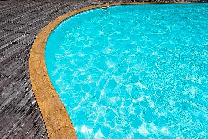 Halvar skandinavische Schwimmbeckenfarbe Poolfarbe Anthrazitgrau Beton und GFK
