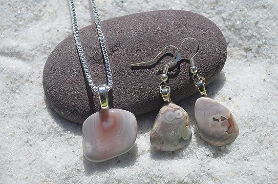 Feminine Pink Botswana Agate Gemstone Earrings Jewelry 925 Silver Hand Made Drop /& Dangle Earrings Easter Gift Jewelry Length 1.7 sve2942