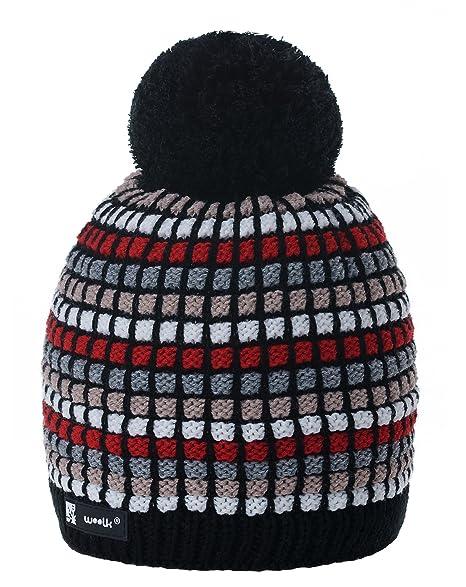 MFAZ Morefaz Ltd Donne Uomo Invernale Berretto Winter Beanie Cappello Fodera  in Pile Hat Sci Snowboard d2f726fcfb98