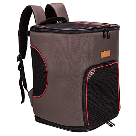 60f37b0b8d apollo walker Pet Soft-Sided Carrier Backpack for Large/Small Cats up to  22lbs