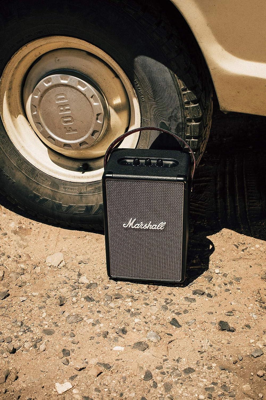 Open-Box & Unused Marshall Tufton Portable Bluetooth Speaker (Black) kida.in
