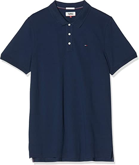 Tommy Hilfiger Original Fine Pique Polo para Hombre: Amazon.es ...