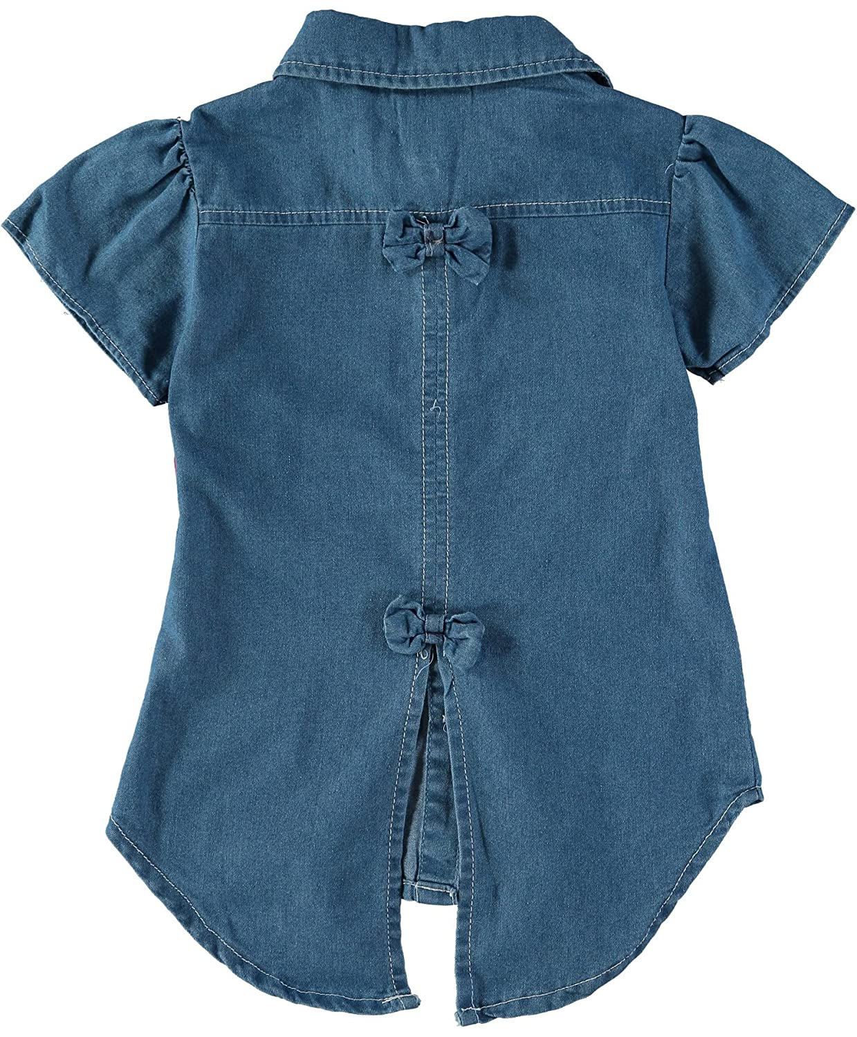 Real Love Little Girls Denim Tunic Legging Set