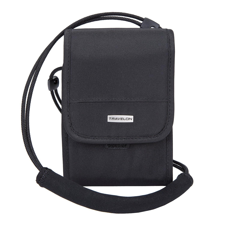 Travelon Anti-Theft Travel Wallet, Black, Small 42475 50