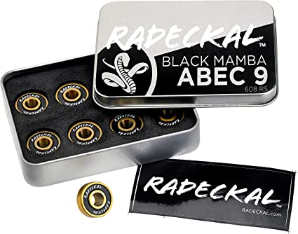 Pro Longboard 608 Washers And Of Bearings Premium Skateboard Bearings ABEC 9