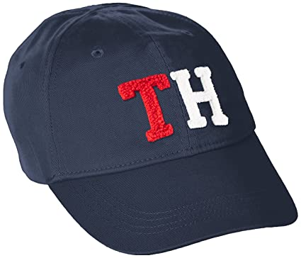 Tommy Hilfiger Badge Cap - Gorra Niñas, Azul (Navy Blazer 431), 2