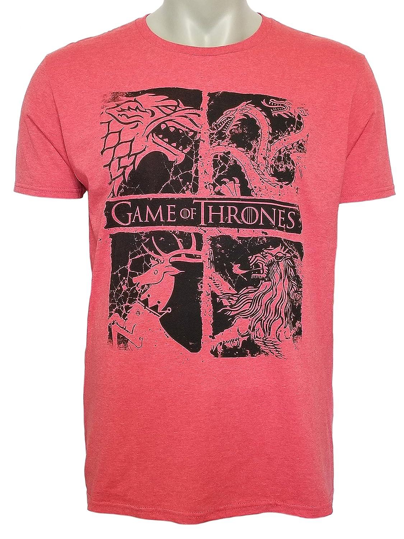Amazon.com: Game of Thrones House Crest Logo Mens Tee Targaryen ...