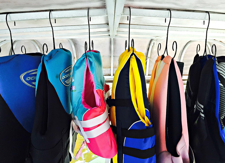 Life Jacket Hanger, Storage: Life Preserver, Life Vest Hanger U0026 Storage, Life  Jacket Dryer, Drying Rack (Set Of 5 Hangers) Boating Hanger And Storage ...