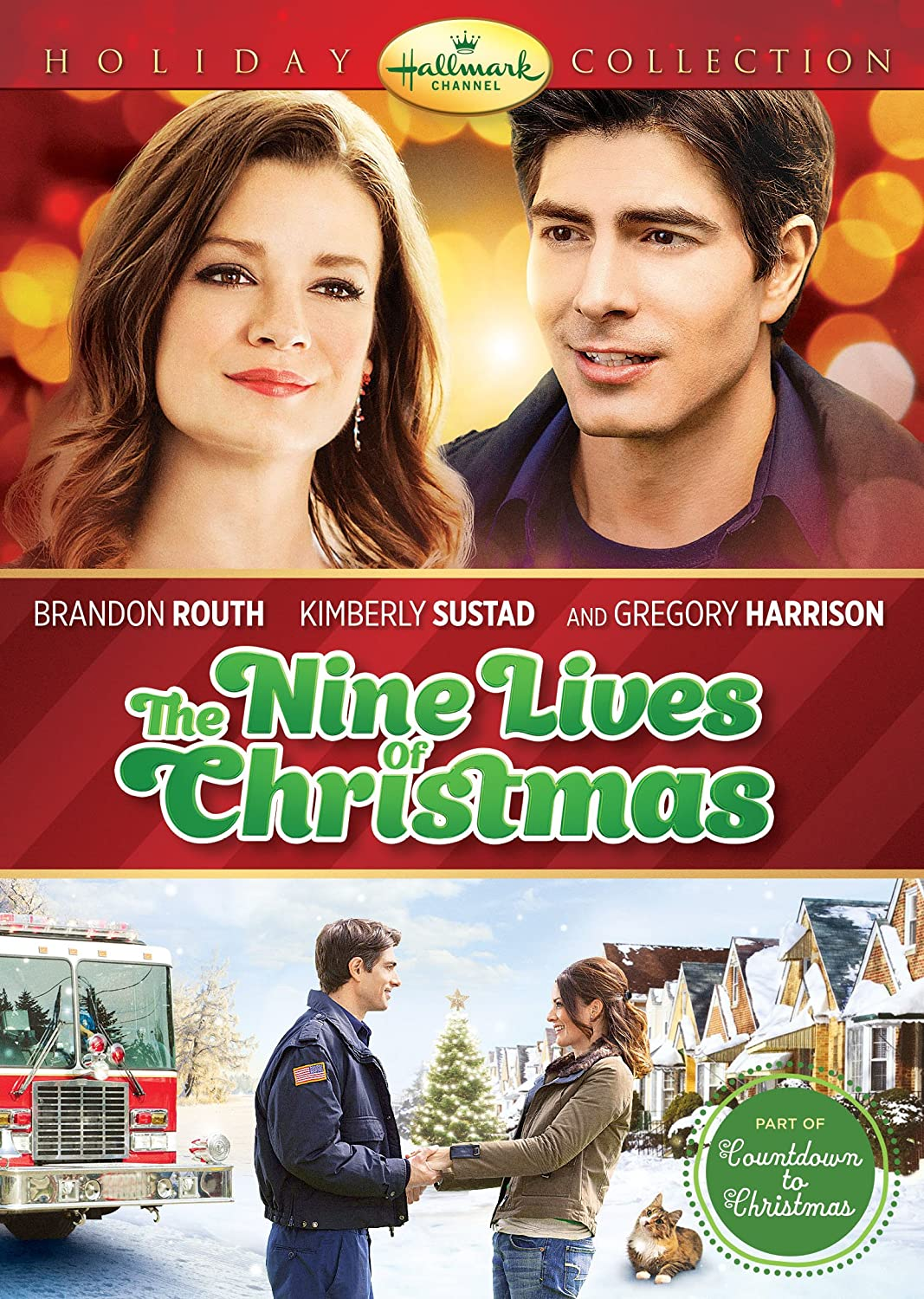 The Nine Lives of Christmas Brandon Routh Family Movie