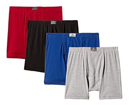 Jockey Men's Cotton Trunk Front Open 8008 (Pack of 4) Assorted colors Men's Underwear Briefs at amazon