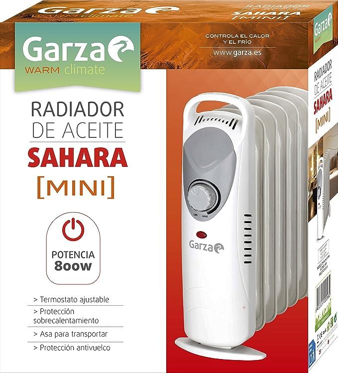 Garza Sahara - Radiador de aceite de 11 elementos con ruedas, potencia 2500W: Amazon.es: Hogar