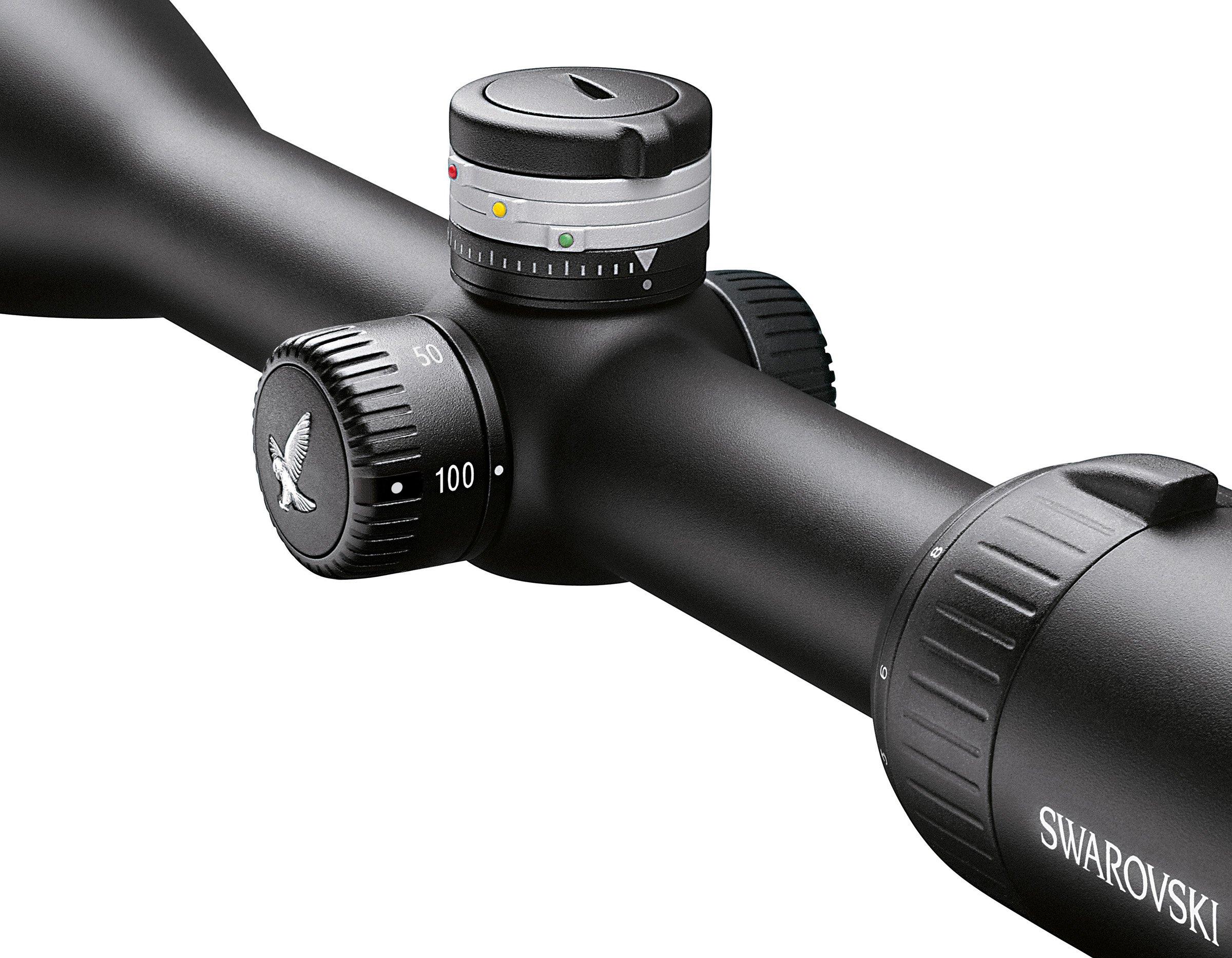 Swarovski Z5 3.5-18x44 Ballistic Turret Plex Reticle Riflescope by Swarovski Optik