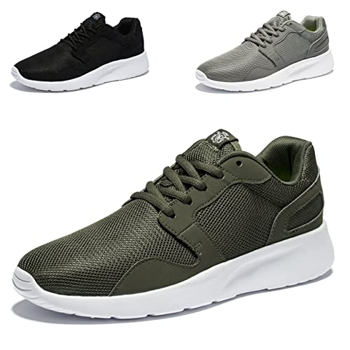 8d2b41d52dd03 Amazon.com   WOTTE Men s Running Shoes Comfortable Breathable Full ...