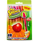 Mr. Sketch Scented Twistable Crayons, Assorted Colors, 18-Count