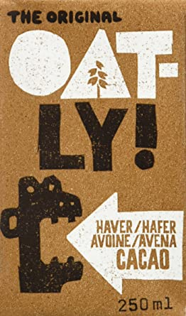 Oatly Bebida Avena con Chocolate - 250 ml - [Pack de 9 ...