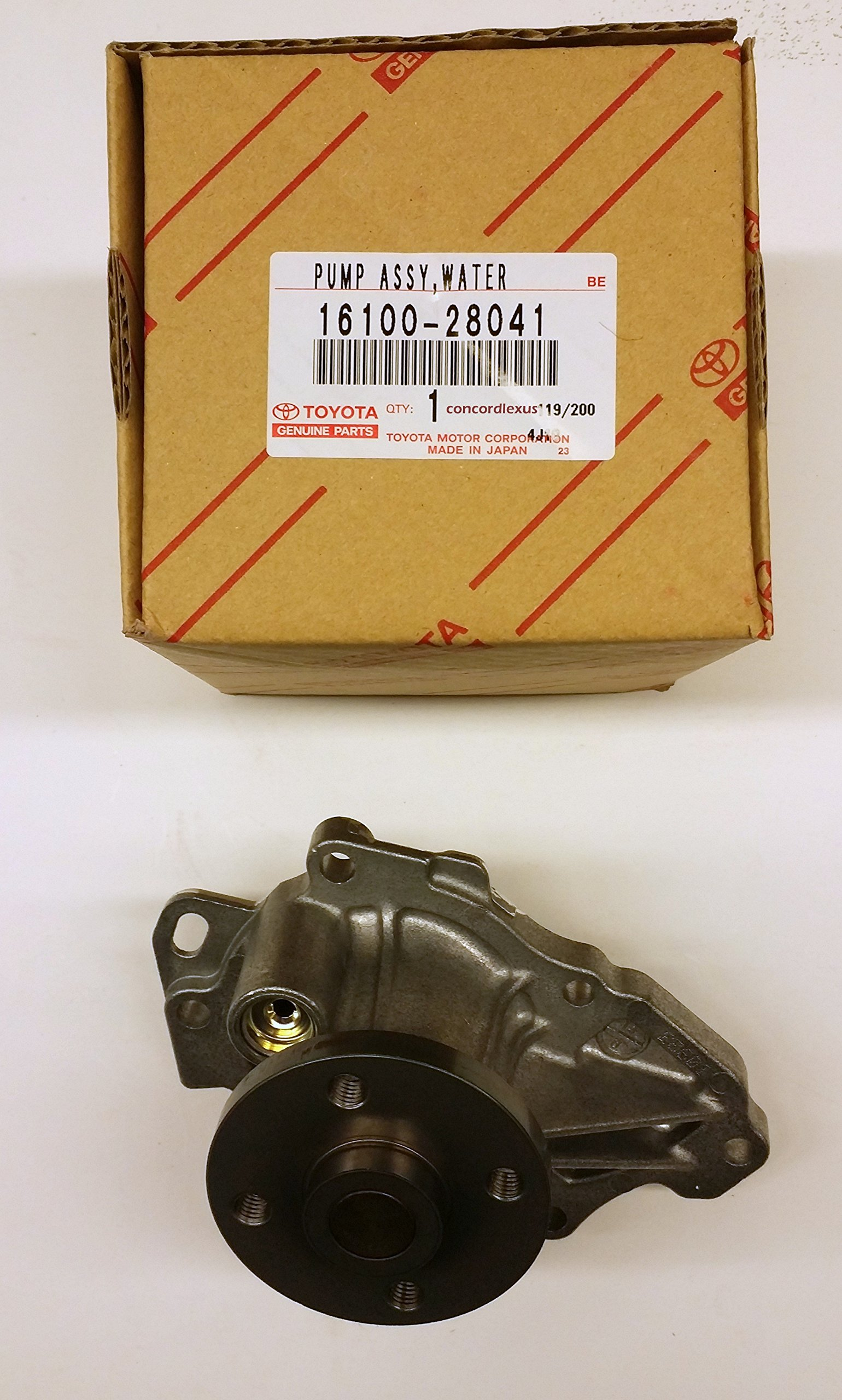 Lexus 16100-28041, Engine Water Pump by Lexus