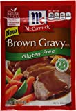 McCormick Gluten Free Brown Gravy Mix, 0.88 oz (Case of 12)