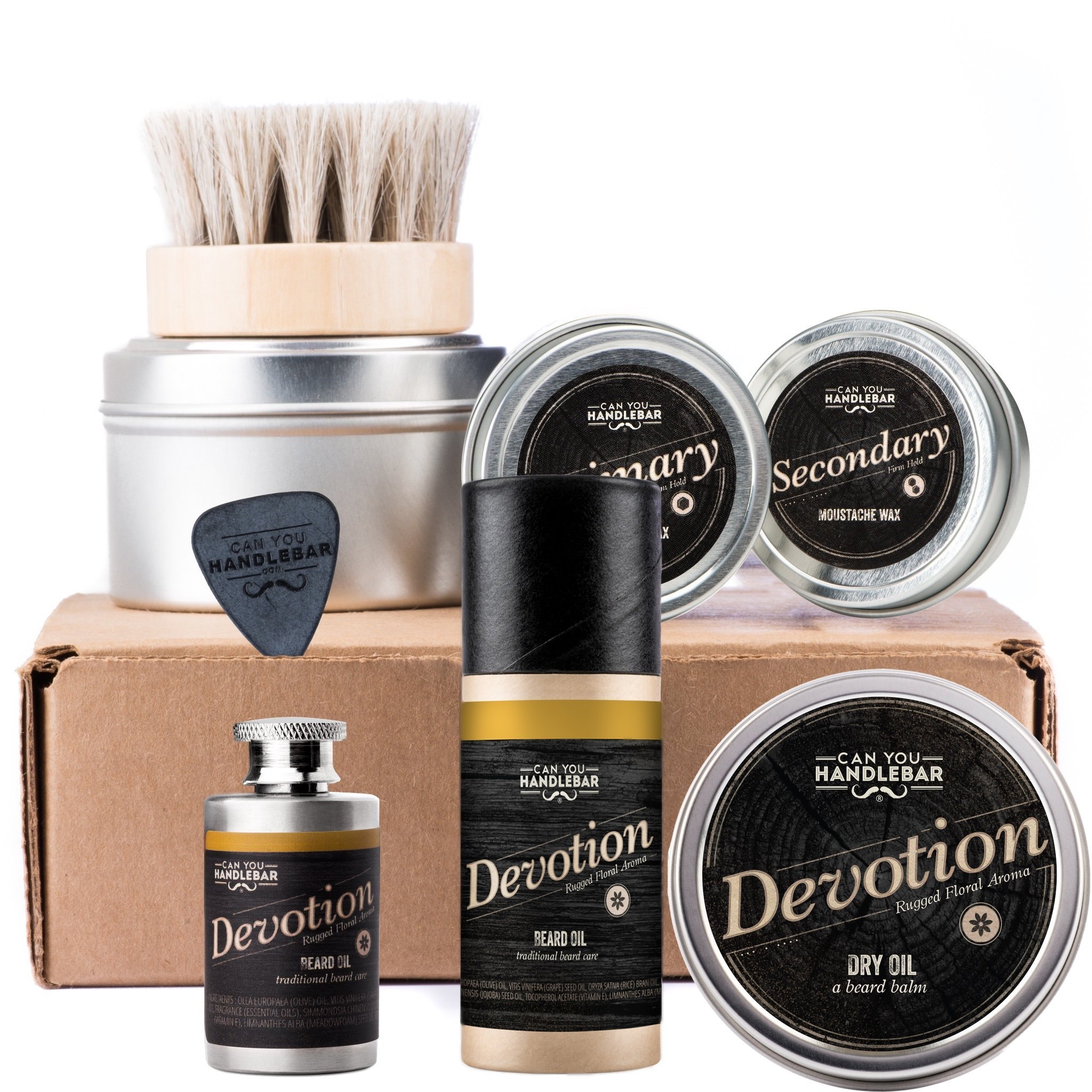 CanYouHandlebar Ultimate Beard Care Kit : Devotion - Rugged Floral