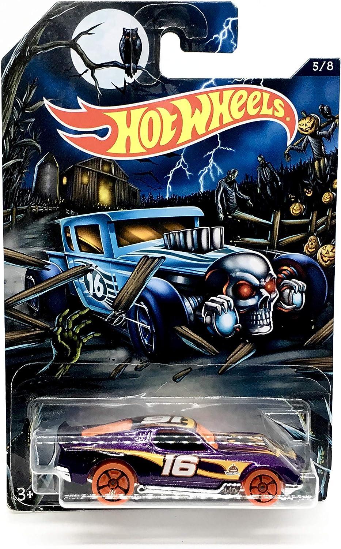 hot wheels happy halloween blvd bruiser purple 5 of 8 2016