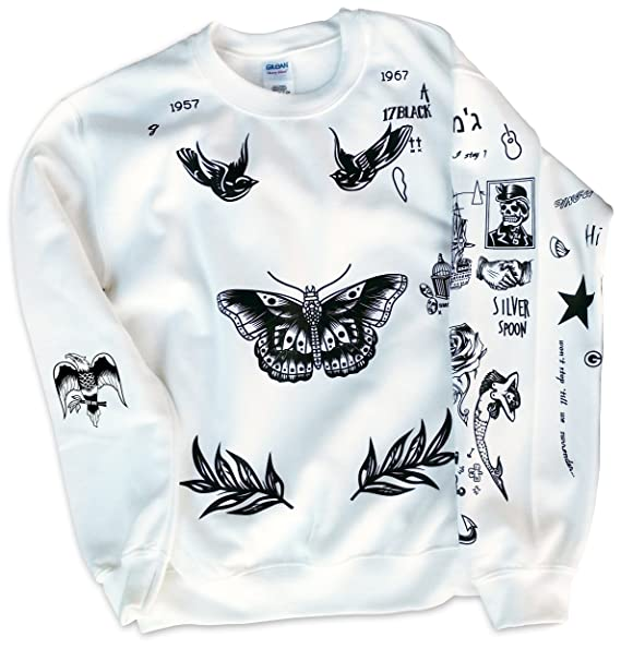 Harry Styles One Direction Updated Tattoos Sweatshirt
