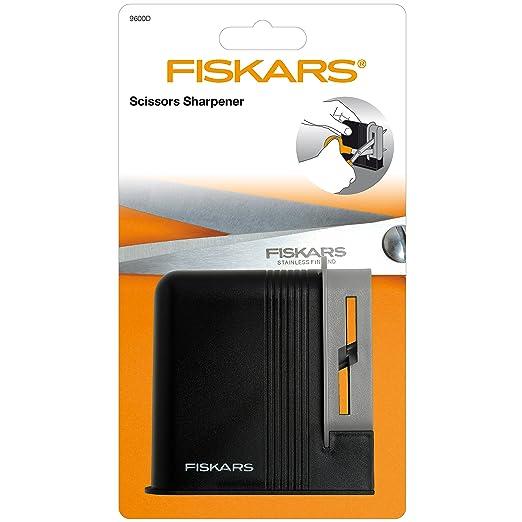 Compra Fiskars Afilador de tijeras, para Tijeras para diestros, Afilador de cerámica/Cubierta de plástico, Negro/Gris, 1005137 en Amazon.es