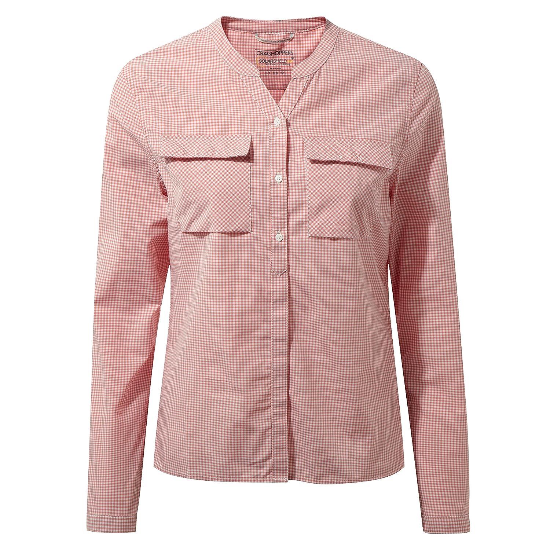Craghoppers Damen Ravello Long Sleeved Shirt Oberteil CWS449