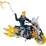 Marvel Figura de Acción Ghost Rider con Motocicleta Legends