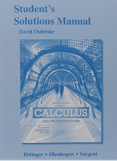 Calculus and its applications books a la carte plus mylab math students solutions manual for calculus and its applications fandeluxe Images
