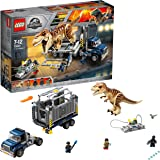 LEGO 75933 Jurassic World T. rex Dinosaur Toy Transport Building Set for Kids
