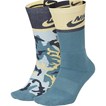 dfbf006ce1f7 Nike SB Energy Crew SX6848 Skateboarding Socks (2 Pair) (LG (Men s Shoe