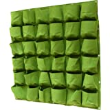 Prudance Vertical Wall Garden Planter, 36 Pockets, Wall Mount Planter Solution ( 40 in x 40 in )
