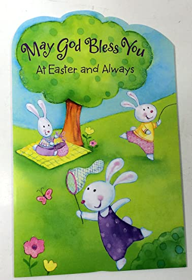 Amazon easter cards for kids religiousmay god bless you at easter cards for kids religiousmay god bless you at easter and always american m4hsunfo