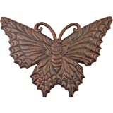 Butterfly Stepping Stone Decorative Bronze Cast Iron Yard & Garden