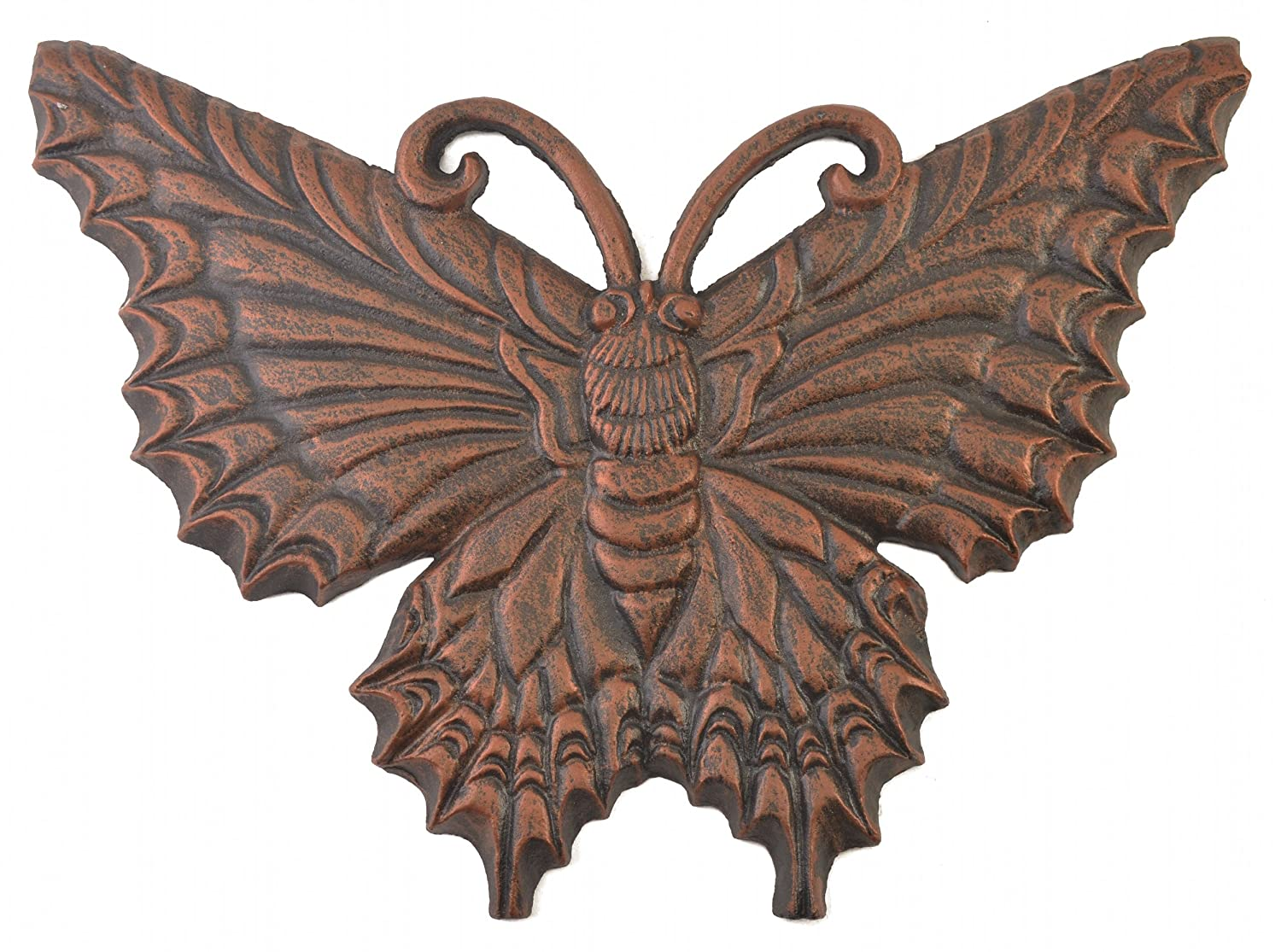 Import Wholesales Butterfly Stepping Stone Decorative Bronze Cast Iron Yard & Garden