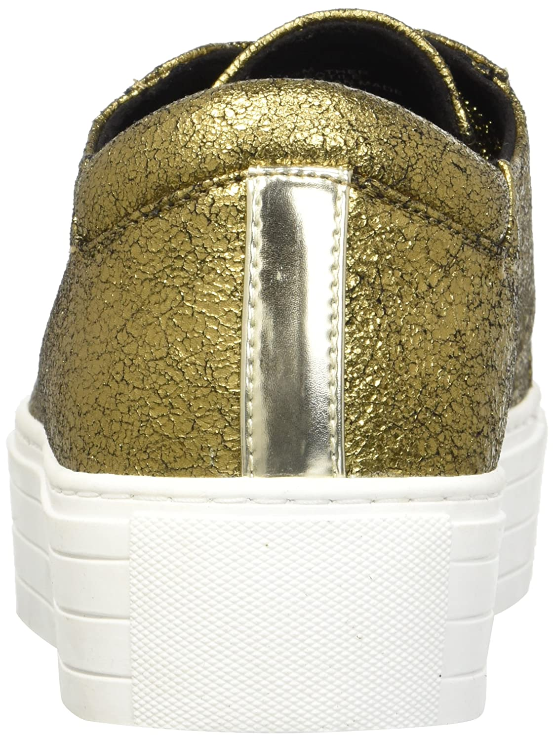 Kenneth Cole New York Women's Abbey Platform Lace-up Sneaker B07B13WM2M 8 B(M) US|Gold