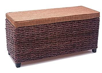 Büloo aufbewahrungshocker sitzhocker mit stauraum wäschetruhe